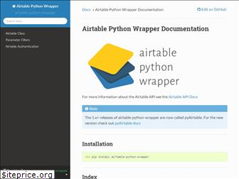 airtable-python-wrapper.readthedocs.io