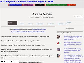 www.akahinews.org website price