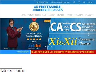 akprofessionalcoachingclasses.in