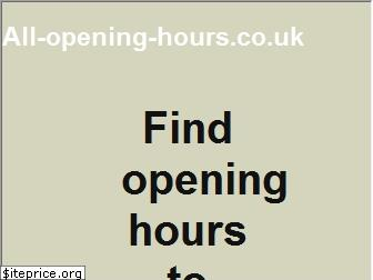 all-opening-hours.co.uk