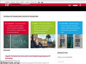 www.alliance-francaise.hr website price
