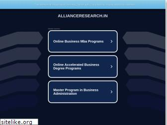 allianceresearch.in