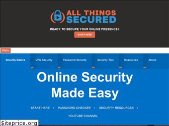 allthingssecured.com