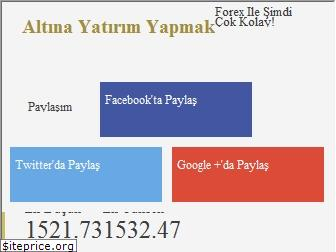 www.altinayatirim.net website price