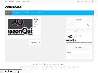 amazonquiz.in