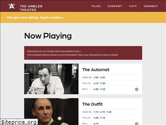 www.amblertheater.org website price