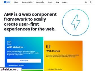 www.amp.dev website price