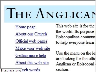 anglican.org