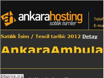 www.ankaraambulans.net website price
