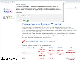 annales2maths.com