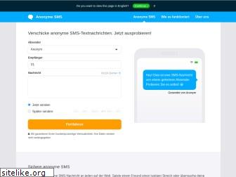 anonymesms.de