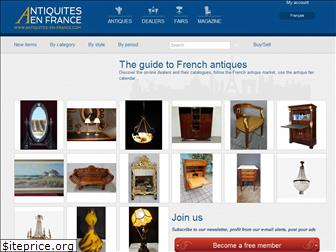antiques-in-france.com