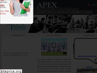 apexcollege.in