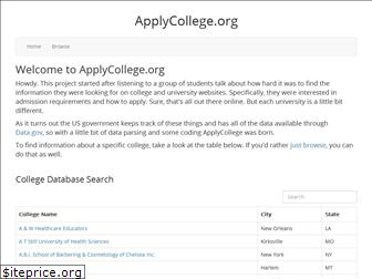 applycollege.org