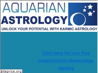 www.aquarianastrology.org website price