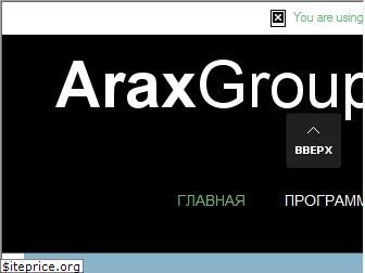 www.araxgroup.ru website price