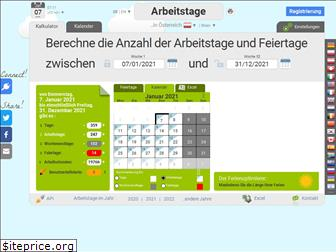 arbeitstage.at