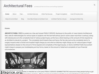 architecturalfees.com
