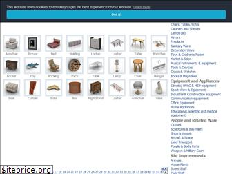 www.archive3d.net website price