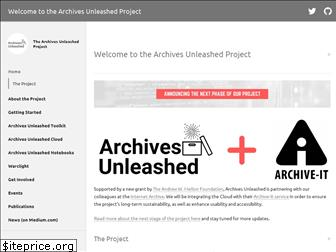 archivesunleashed.org