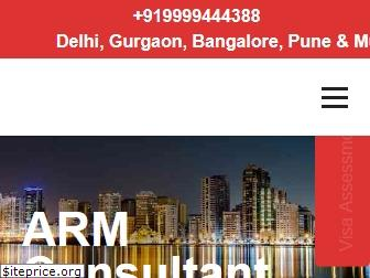 www.armconsultant.in website price