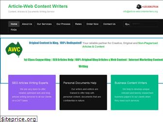 article-webcontentwriters.org