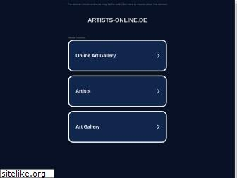 www.artists-online.de website price