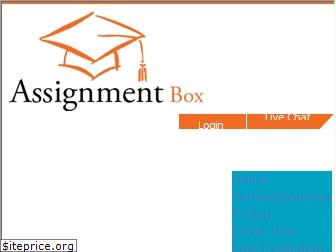 assignmentbox.co.uk