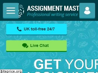 assignmentmasters.co.uk
