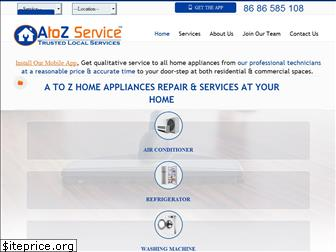 www.atozservice.in website price