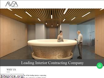 aveacontracting.com