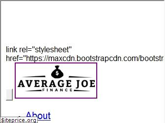 avgjoefinance.com