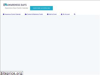 awarenessdays.com