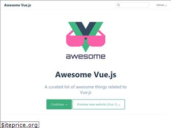 awesome-vue.js.org