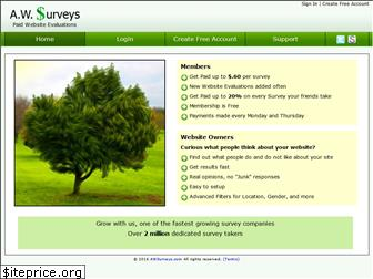 awsurveys.com