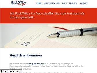 backoffice-for-you.ch