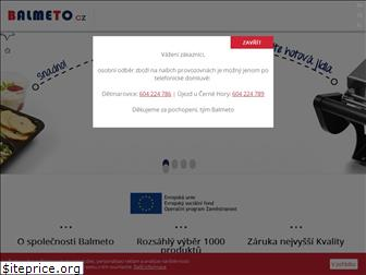 www.balmeto.cz website price