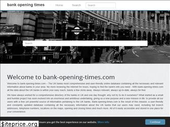 bank-opening-times.com