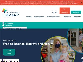barrielibrary.ca