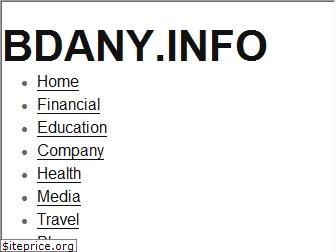 bdany info estimated website worth $ 238