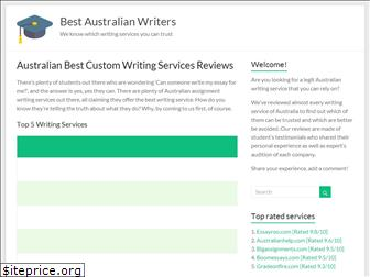 bestaustralianwriters.com