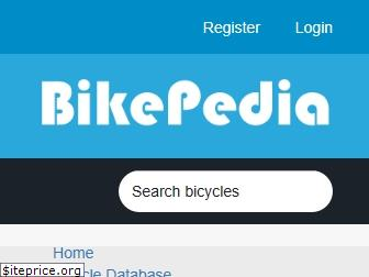 Bikepedia Website Bike Pedia