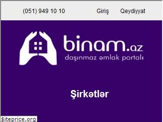 www.binam.az website price