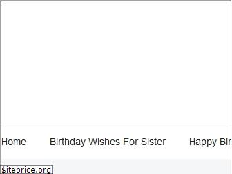 birthday-wishes-for-sister.com