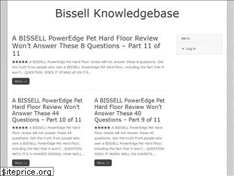 bissell-questions-answered.com