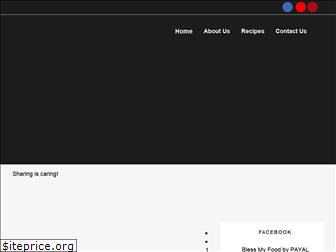 blessmyfoodbypayal.com