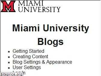 www.blogs.miamioh.edu website price