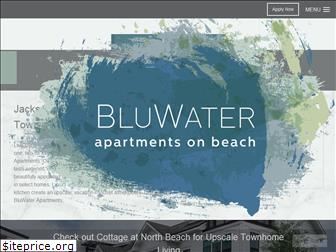bluwaterapartments.com