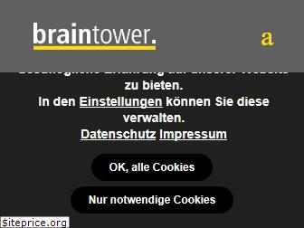 www.braintower.de website price