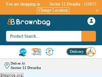 www.brownbag.in website price